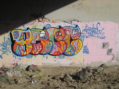 bree (kik_da_beat) Tags: art colors yard graffiti colorful bee funk be graff oc bomb breezy bek dicth krew throwie tzm beyard anck bornevilkids funkygraffiti ocgraffit