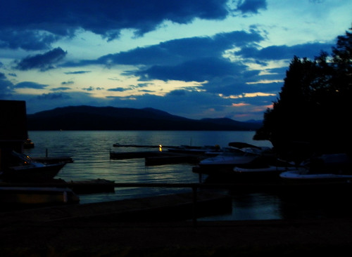Dusk On Lake Memphremagog I
