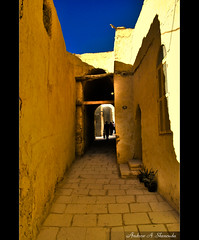 A Path in Saint Paul Monastery, Egypt [HDR] (Bakar_88) Tags: architecture path redsea egypt limestone governorate saintpaulmonastery