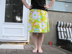 Sheet skirt re-do