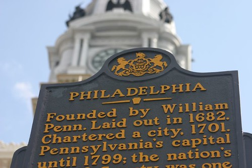 Philadelphia downtown...