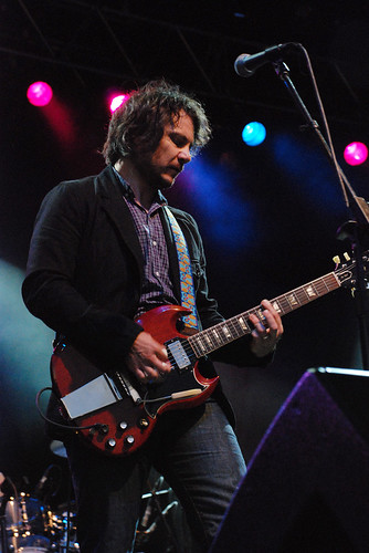 Jeff Tweedy of WILCO @ Dutchess Stadium, Wappingers Falls, NY 7-18-09