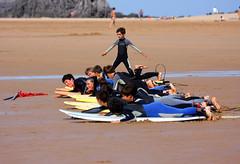 Pues yo he cogido la ola buena!!! (Leandro MA) Tags: canon playa canon70300 noja canoneos40d playaderis leandroma