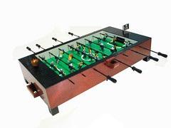 LEGO Coffee Table Foosball Table (Mt.Dew Monkey) Tags: game castle lego pirates soccer coffeetable foosballtable