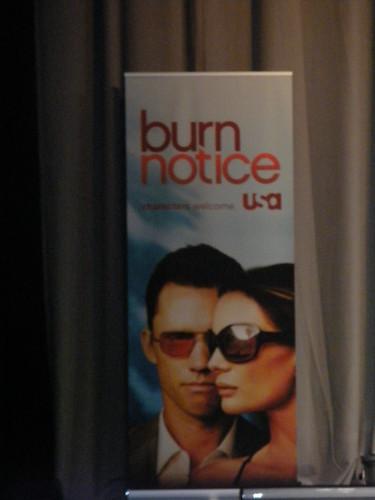 burnnotice comiccon2009