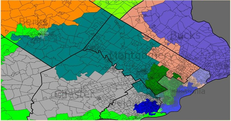 Pennsylvania Democratic Gerrymander  Swing State Project