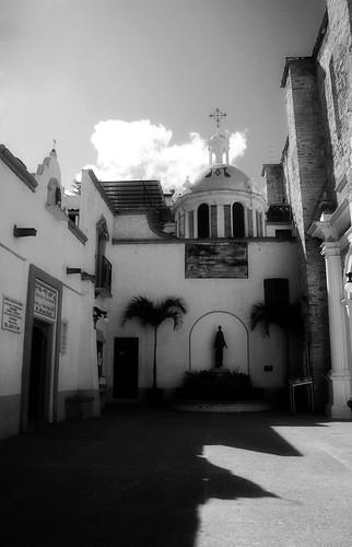 Outside Virgen de Guadalupe Church - Puerto Vallarta