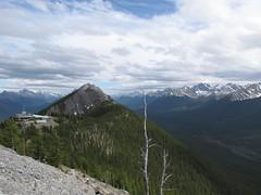Sulphur Mountain (Redbeard Math Pirate) Tags: mountain canada mountains nationalpark banff sulphurmountain banffnationalpark banffgondola sulphurmountaingondola