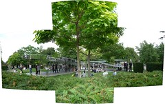Serpentine Gallery Pavilion 2009 (Wilfred Knievel) Tags: autostitch architecture stitch pavilion sanaa stitched serpentinegallery londonist kazuyosejima ryuenishizawa serpentinepavilion serpentinegallerypavilion2009