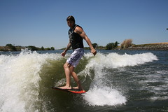 Chris (bleu988) Tags: california wake dude gliding ripping stoked wakesurfing boatsurfing wavesurfing eternalwave deltasurfing