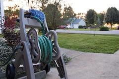 yard nikon lawn hose driveway wash reel nozzle mitt d40 project365