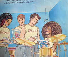 Barbie and the Rockers 'The Fan' Detail (The Pairabirds) Tags: illustration drums book ken barbie derek 80s delia mattel rockers 87 deedee tomtierney