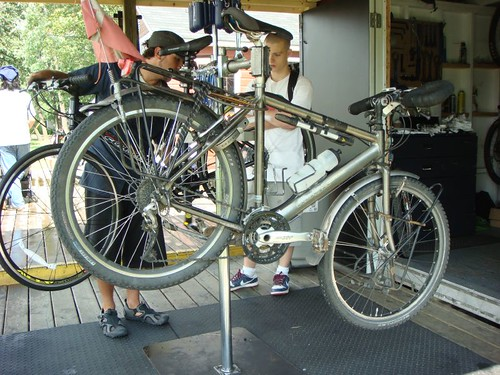 My Koga at My Bicyclette bike shop...