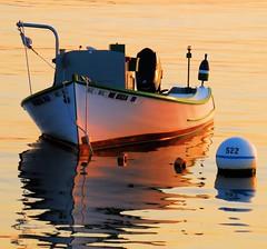 Bouy 522 (ShacklefordPhotoArt) Tags: ocean sea portland harbor boat maine newengland reflexions photoart blu