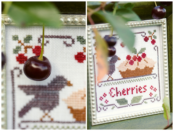 Cherries (Little House Needleworks)
