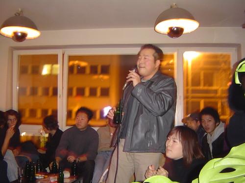 Karaoke Abend bei Tokyo Love im  Café International
