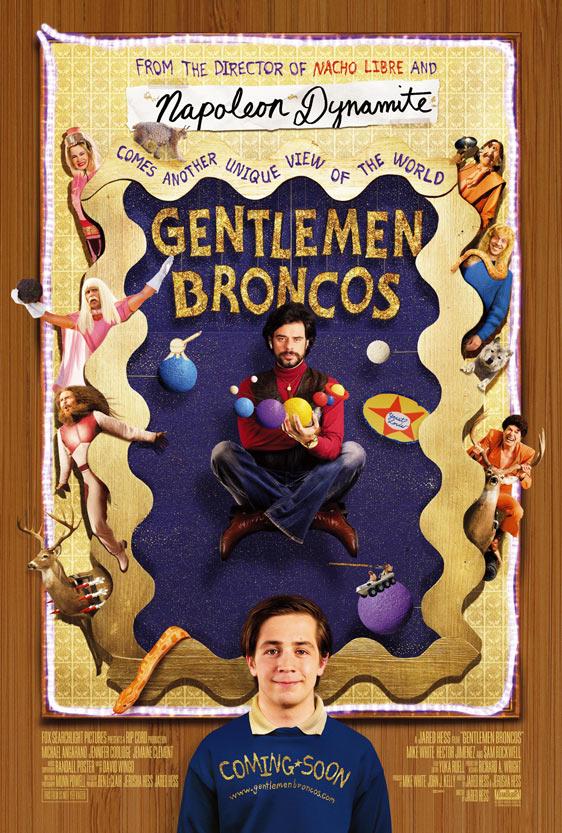 Gentlemen Broncos poster