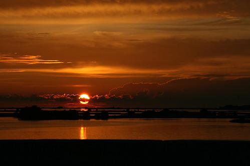 Cedar Key Golden Sunset