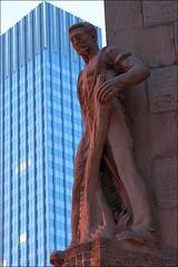 statue (loop_oh) Tags: statue germany deutschland hessen frankfurt main bank frankfurtammain frankfurtmain roemer metropole rmer mainhattan eintracht frankfurtam