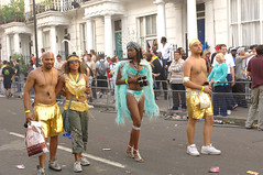 DSC_2623 Notting Hill Caribbean Carnival Costume Lady Performer 29 Aug 2005 (photographer695) Tags: 2005 carnival girls beauty lady costume hill caribbean 29 aug performer nottinghill notting