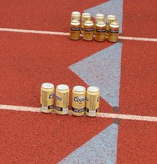 Beer on Track