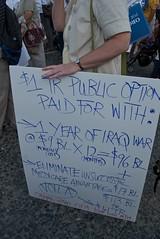Eliminate medicare advantage - Health care reform rally at San Francisco City Hall by Steve Rhodes