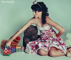 Toy Box (Fallen Rose Media) Tags: light fashion rose fairytale studio model media pretty girly australian brisbane fallen couture strobe childlike fallenrosemedia begitta begittacouture