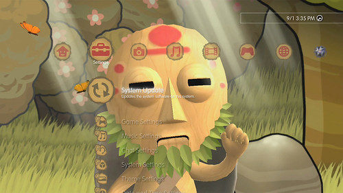 PixelJunk Monsters Dynamic Theme