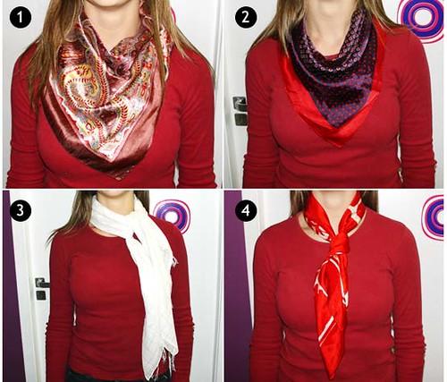 fotos de lencos no pescoco