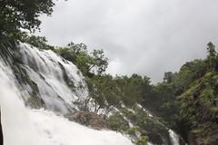 Barachukki Falls | side view (deepans = Sandeep) Tags: nature water canon falls waterfalls karnataka weekendtrip shivanasamudra barachukki 450d