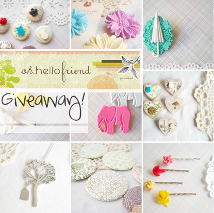 Oh, Hello Friend Giveaway