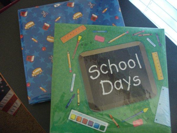 School Scrapbooks