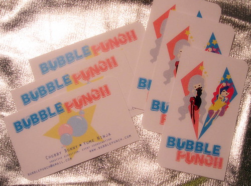Bubble Punch Business Cards