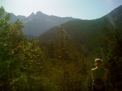 Sara in the Cascades