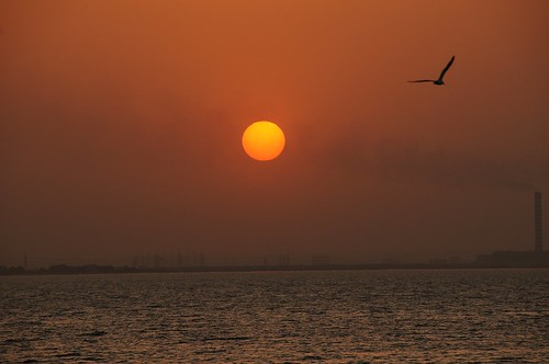 Kuwait sunset by you.
