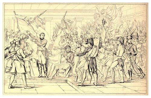 017-Recuperacion de las banderas en Inspruck 1805-The Napoleon gallery 1846