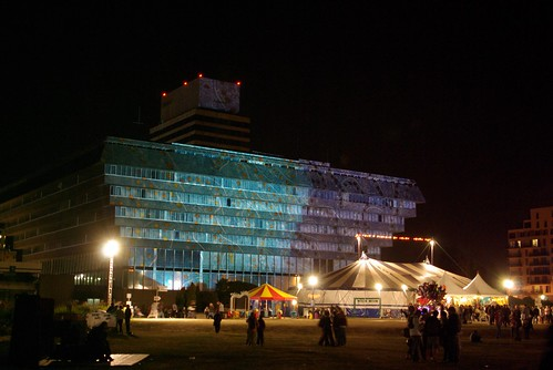 Cergy Préfecture by night