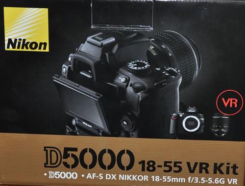 My New Nikon D5000