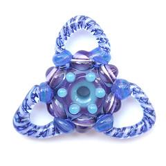 Magic Ink (sarah hornik) Tags: glass handmade disk bullseye bead lampwork focal mandalaseries