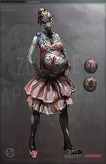 Zombie Apocalypse Queen
