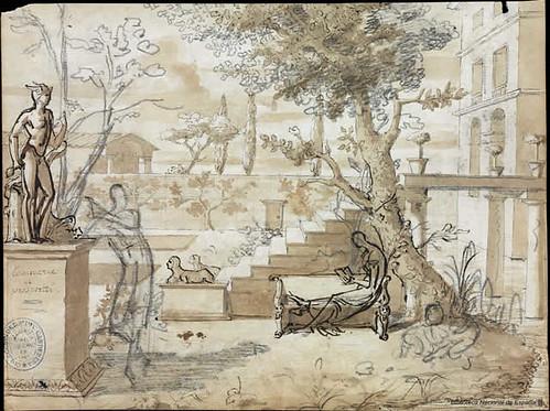 jardín villa