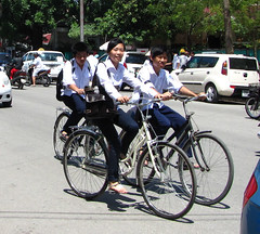 Three on a bike