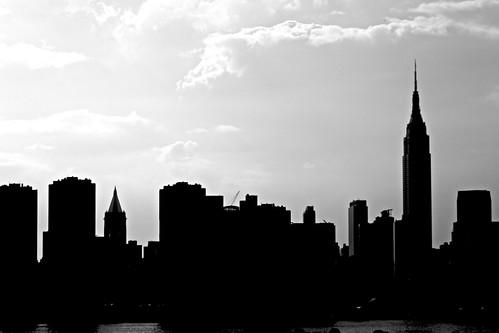 cleveland skyline vector. Skyline Silhouette
