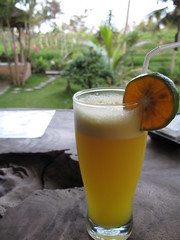 Tangerine Juice, Café Yeh Pulu