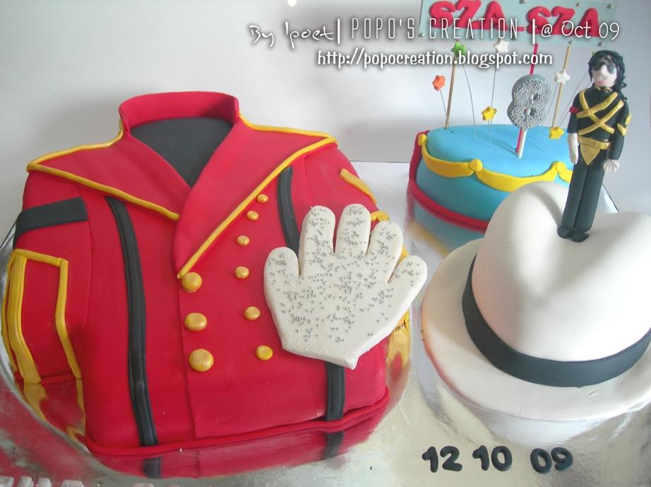 Michae Jackson Cake Theme