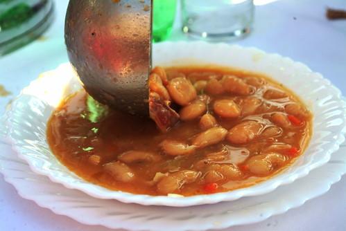 Istrian bean soup - maneštra