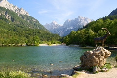 Lake Jasna 2 (Slybacon) Tags: mountain lake water slovenia slovenija jasna kranjskagora
