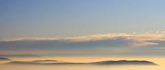 view II (Jrme...) Tags: sky clouds canon germany deutschland eos iso100 view dusk himmel wolken crop f22 aussicht schwarzwald blackforest 52mm settingsun abendsonne mummelsee 50d canonefs1755mmf28isusm