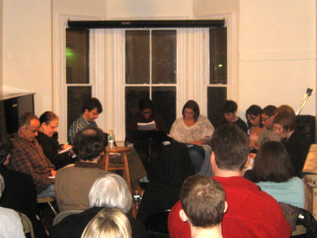 "October 11, 2009 staged reading of ""Total War"""