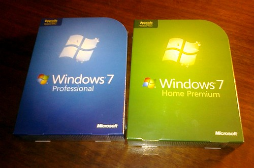 Win 7 OS arrived